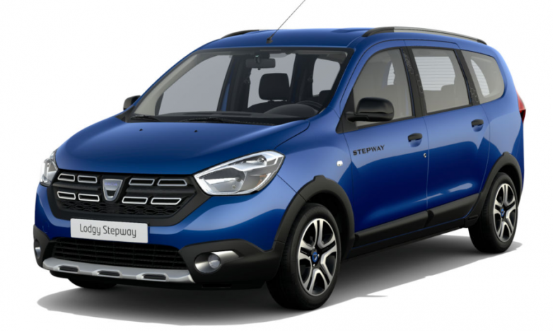 photo DACIA LODGY Stepway SL2020 Bluedci 115ch 7Places
